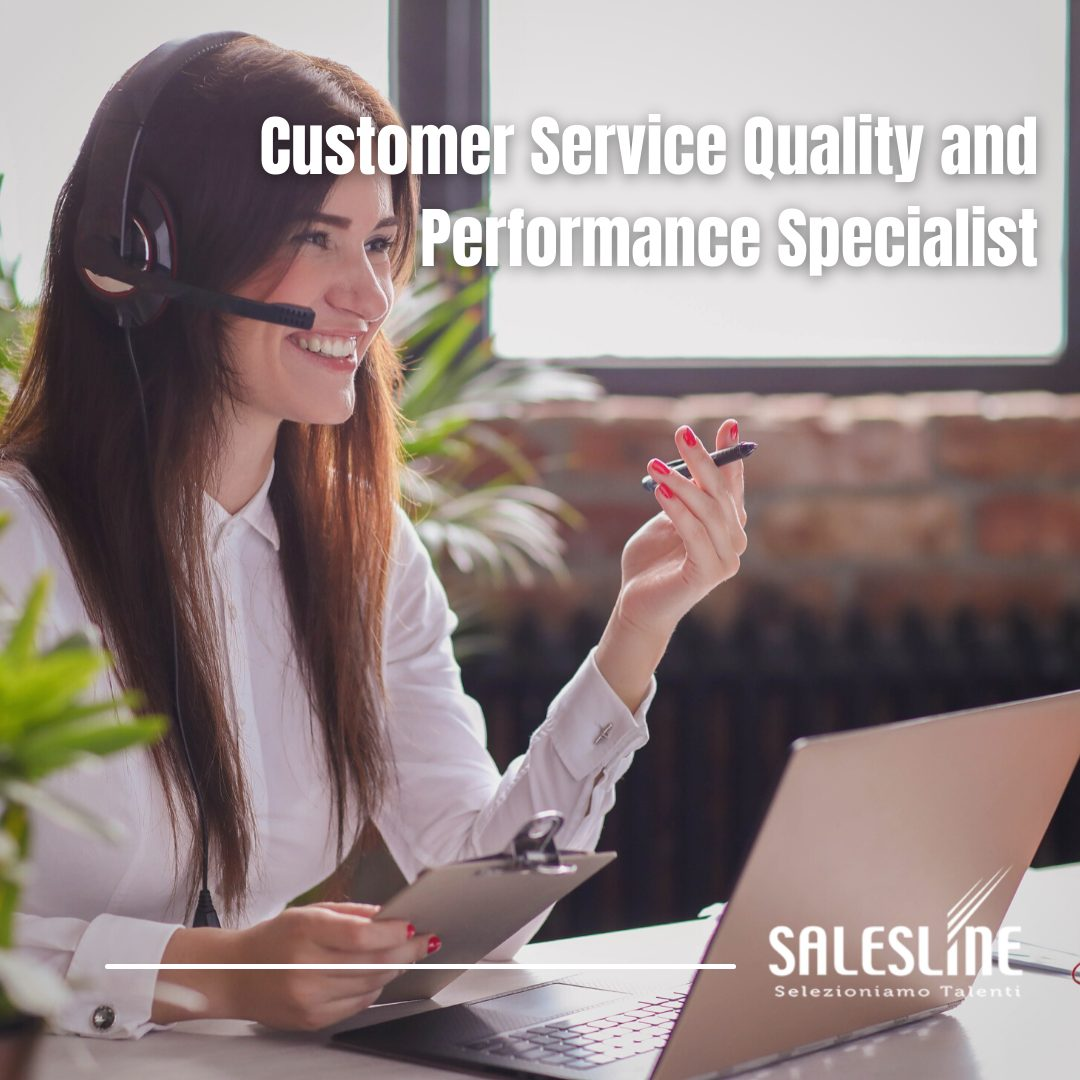 Customer Service Quality and Performance Specialist