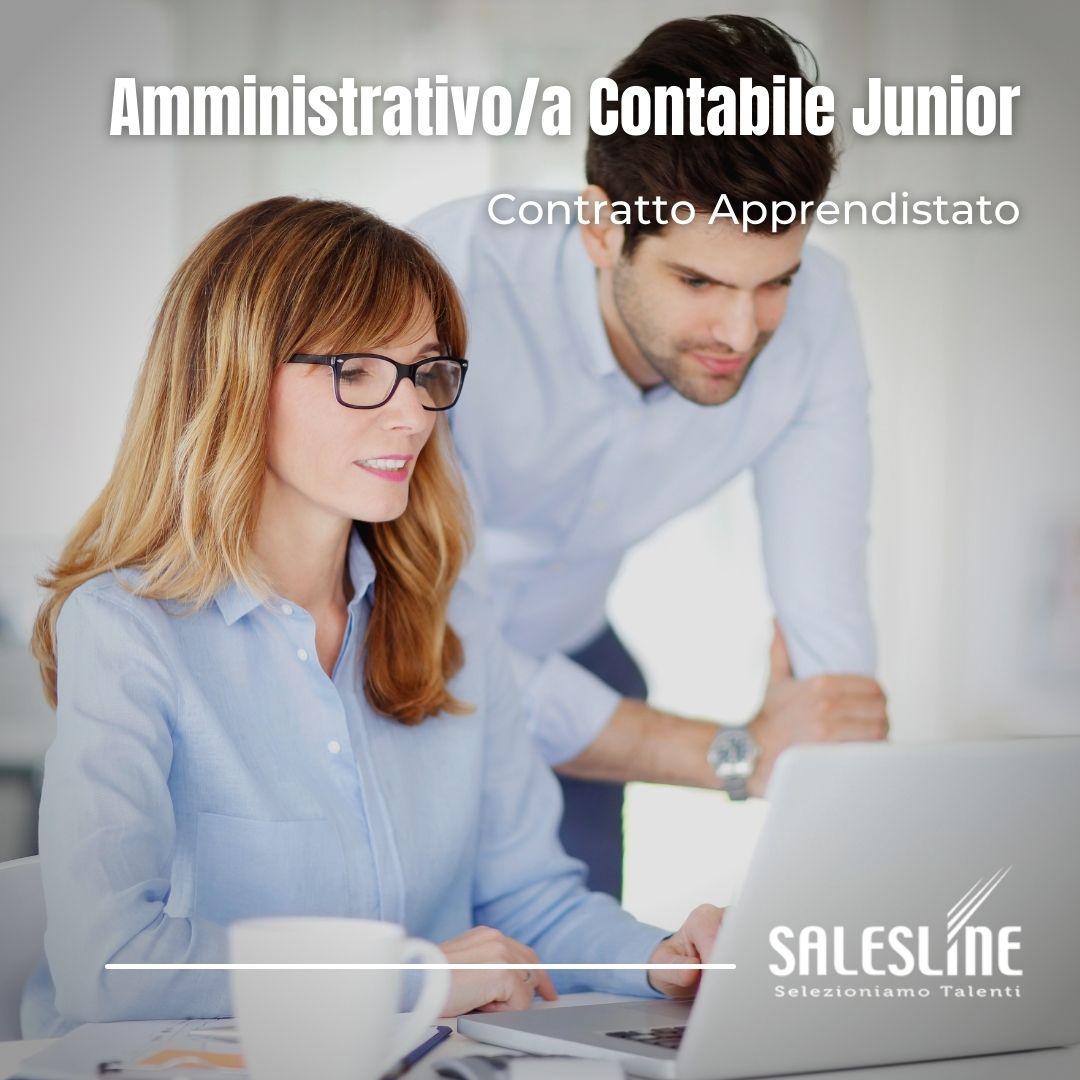 AMMINISTRATIVO/A E CONTABILE JUNIOR – Contratto Apprendistato