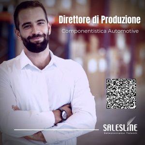 Direttore di Produzione - Componentistica Automotive