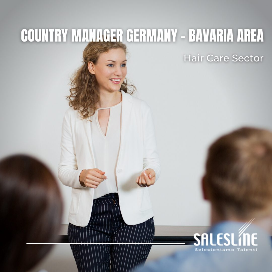 COUNTRY MANAGER GERMANY – BAVARIA AREA – Hair Care Sector