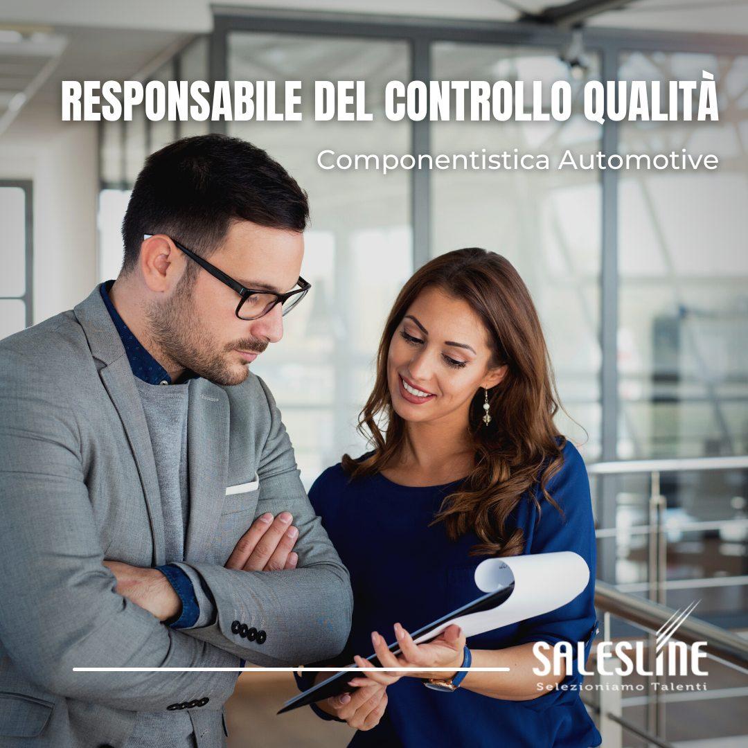 Responsabile Controllo Qualità - Settore Automotive