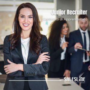 Junior Recruiter - Contratto di Apprendistato